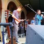Ronny und Timon auf der Bühne
